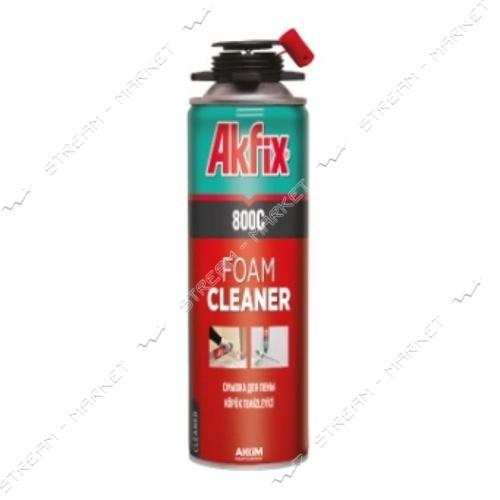 Akfix 'R70' Спрей пена для очистки и полировки шин 500мл
