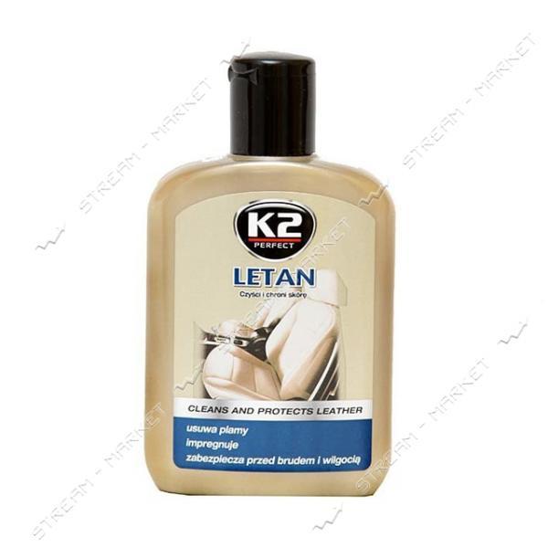 K2 K20114 Полироль для кожи 221мл LEATHER CLEANER