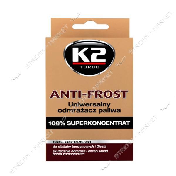 К2 K20233 Размораживатель стекол ANTI FROST 50мл
