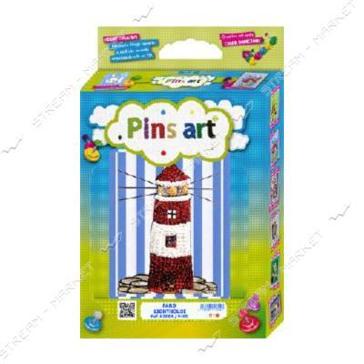 Набор для выкладки пайетками 'Pins Art' 04K2D 'Башня'