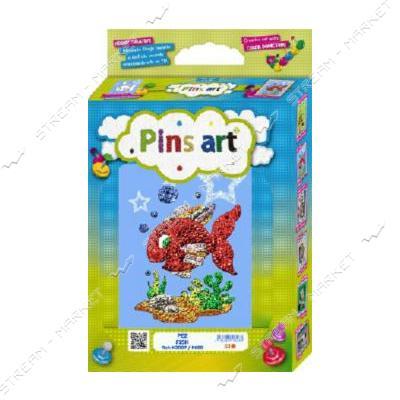 Набор для выкладки пайетками 'Pins Art' 07K2D 'Рыбка'