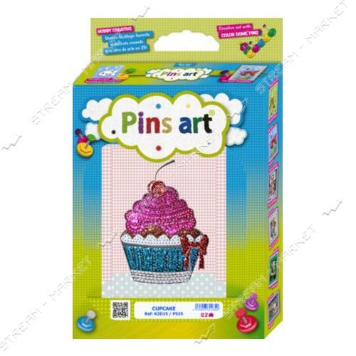 Набор для выкладки пайетками 'Pins Art' 15K2D