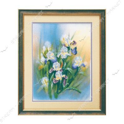 Набор для вышивки бисером Б-505 'Любимые цветы'