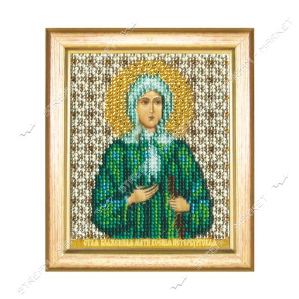 Набор для вышивки бисером Б-1152 'Икона блаженной Ксении Петербургской'