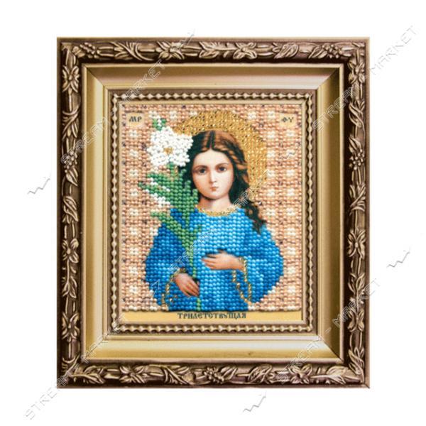 Набор для вышивки бисером Б-1175 'Икона Божьей Матери Трилетствующая'
