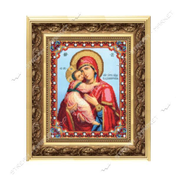 Набор для вышивки бисером Б-1178 'Икона Божьей Матери Владимирская'