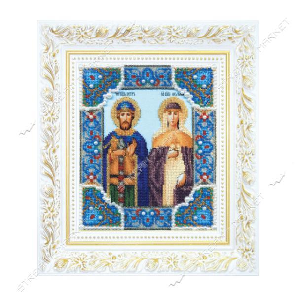 Набор для вышивки бисером Б-1185 'Икона святых благоверных князя Петра и княгини Февронии'