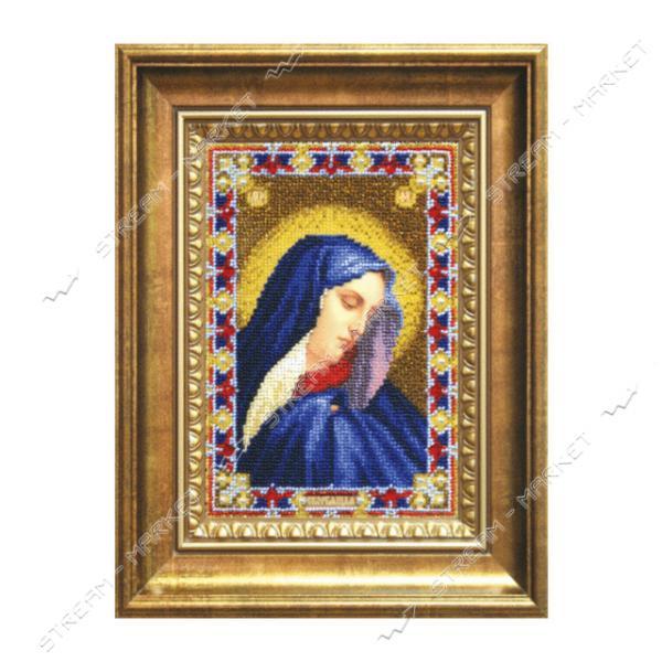 Набор для вышивки бисером Б-1205 'Икона Божьей Матери Скорбящая'