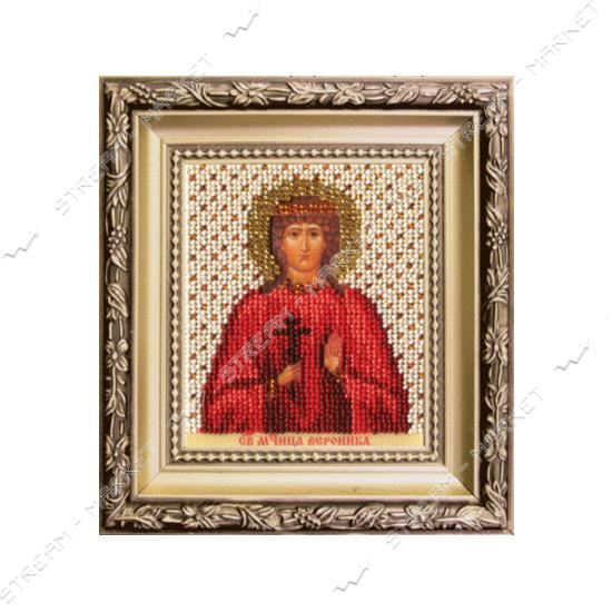 Набор для вышивки бисером Б-1215 'Икона святая мученица Вероника