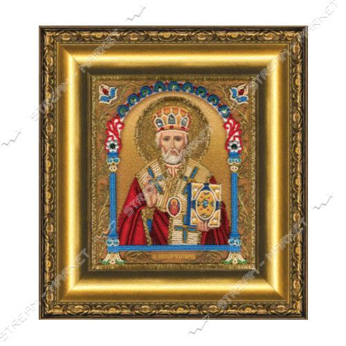 Набор для вышивки бисером Б-1230 'Икона святителя Николая Чудотворца'