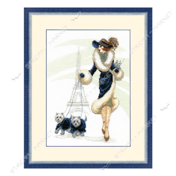 Набор для вышивания крестом Crystal Art BT-066 'Прогулка в Париже'