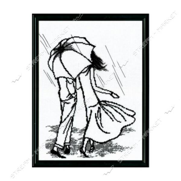 Набор для вышивания крестом 'Чарівна Мить' №363 'Прогулка под дождем'