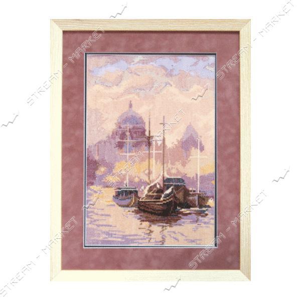 Набор для вышивания крестом 'Чарівна Мить' №585 'Корабли в море'