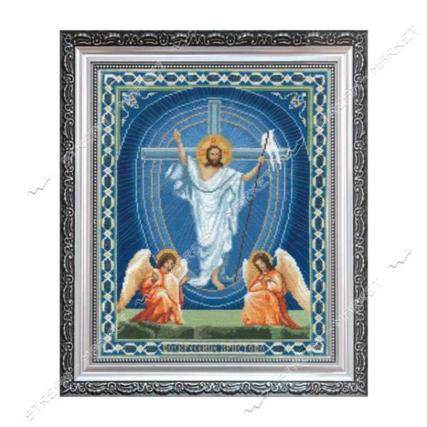 Набор для вышивания крестом 'Чарівна Мить' №А100 'Икона Воскрешение Христово'