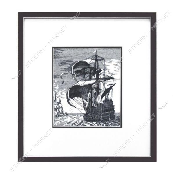 Набор для вышивания крестом 'Чарівна Мить' №А118 'Корабль'