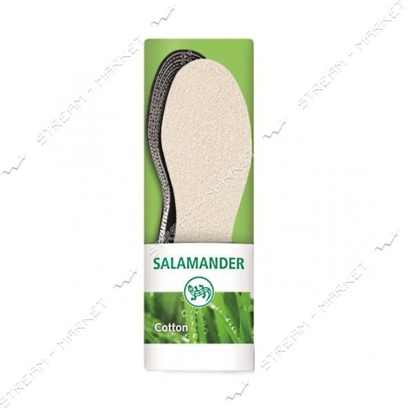 Salamander Стельки Cotton с хлопком, размер 36-46
