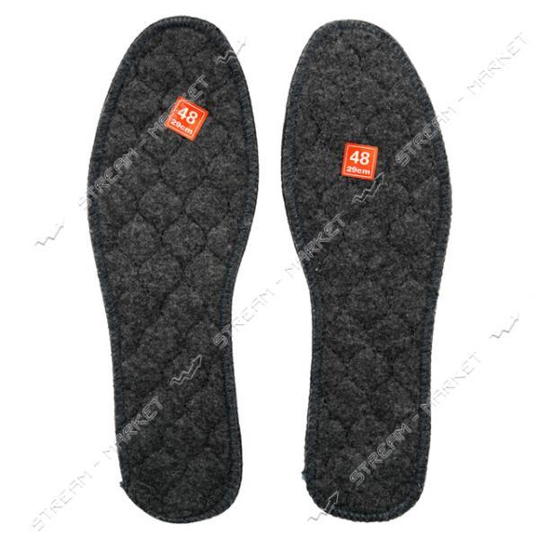 Стелька обувная ФЕТР прошитый р.42 уп. 10 пар