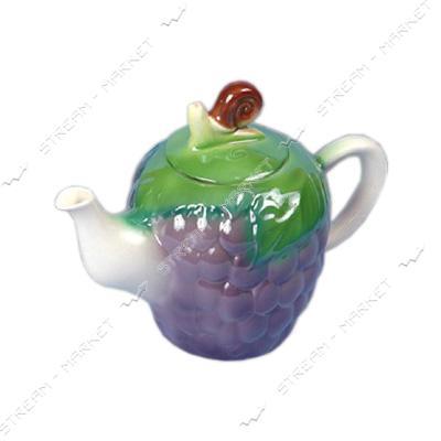 Чайник керамический заварочный Виноград 0.92л