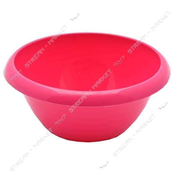 Миска круглая для пищевых продуктов Горизонт 1л цвета в ассорт.