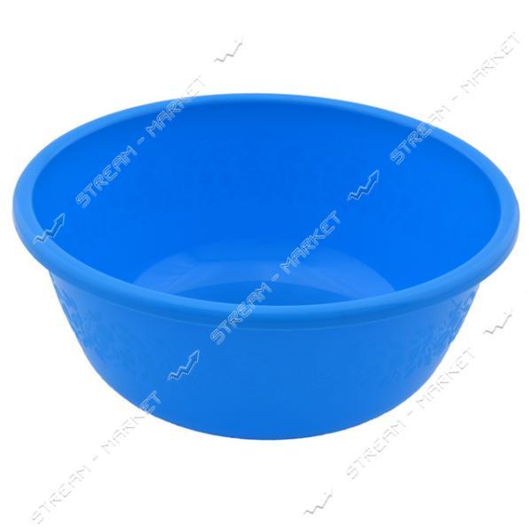 Миска полиэтиленовая для пищевых продуктов Ягодка 2л цветная (круглая)