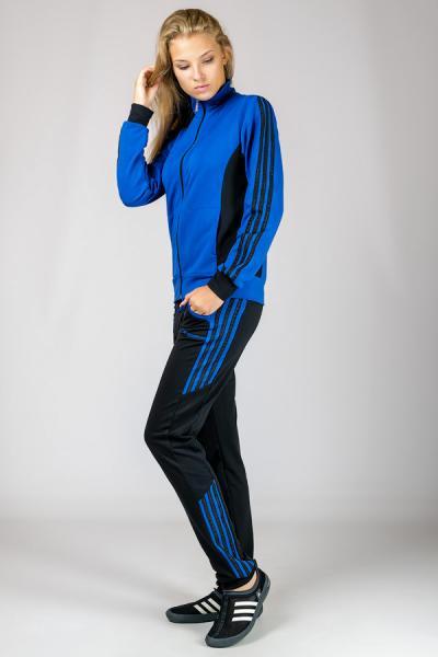 """Спортивный костюм """"Спорт, синий"""", р-р m  l   xl   xxl"""