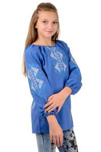 Фото Вышиванка детская (девочки и мальчики) Вышиванка для девочки , цветная