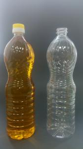 Фото  ПЭТ бутылка под разлив масла.