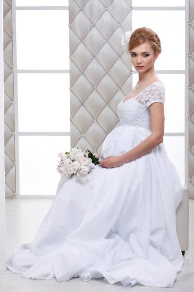 Свадебное платье для беременных невест Асти