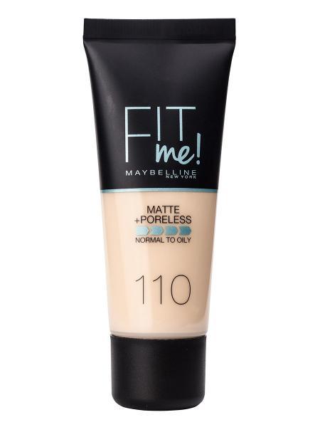 Тональный крем  Fit Me Matte №110 для комбинированной и жирной кожи