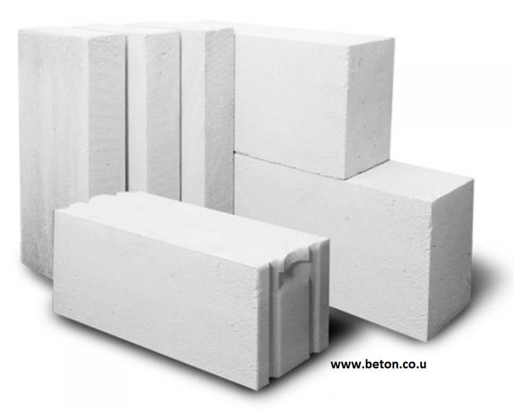 Стеновые блоки (Газобетон)