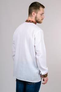 Фото Мужская вышиванка (футболки, рубашки) Мужская сорочка-вышиванка (Дубок) размеры: 44, 46, 48, 50, 52, 54.