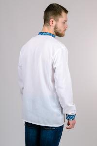 Фото Мужская вышиванка (футболки, рубашки) Мужская сорочка-вышиванка (Тарас) размеры: 44, 46, 48, 50, 52, 54.