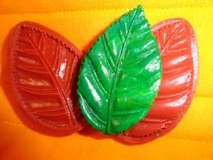 Фото Вайнеры силиконовые цветы и листья Вайнер силиконовый