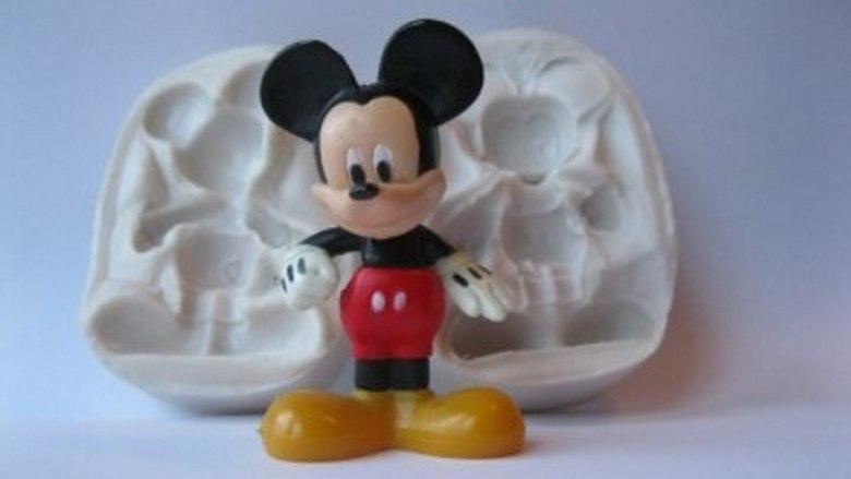 """Молд силиконовый """"Микки Маус"""" 3Д 7,5 см 5,5 см"""