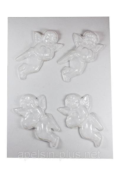 """Молд пластиковый для шоколада """"Амуры"""" 3D"""