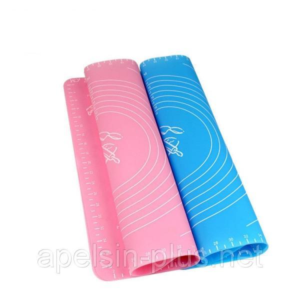 Силиконовый коврик для раскатки теста и выпечки 29 см 25,5 см