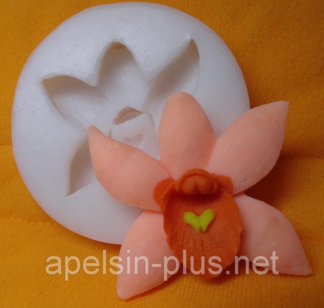 """Молд силиконовый """"Орхидея"""" 6,2 см"""