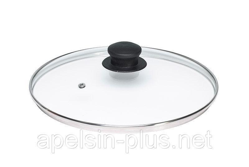 Крышка стеклянная для посуды 34 см
