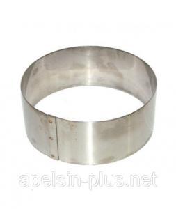Фото Кондитерские кольца и раздвижные формы для тортов Кондитерское кольцо 10 см высота 6 см нержавеющая сталь