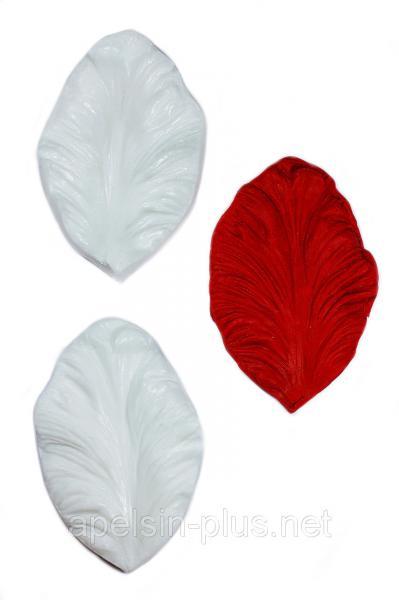 """Вайнер силиконовый """"Лепесток Тюльпан Рококо"""" 7,5 см 4,5 см"""