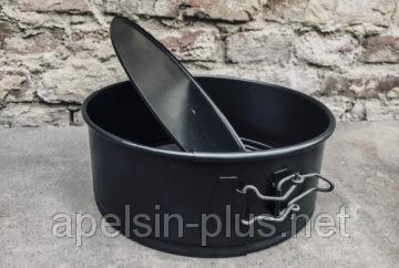 """Форма разъемная для выпечки """"Тортовница"""" 30 см вороненая сталь"""