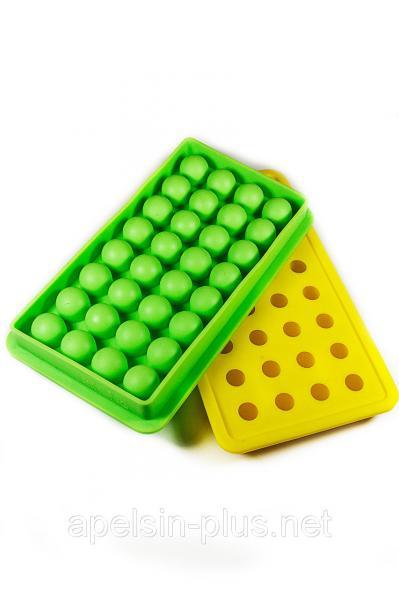 """Силиконовая форма """"Шоколадные драже"""" из 32 шариков"""