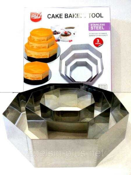 Фото Кондитерские кольца и раздвижные формы для тортов Кондитерские формы металлические