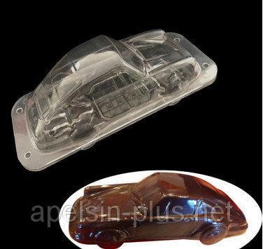 Поликарбонатная форма для шоколада Машина 3D