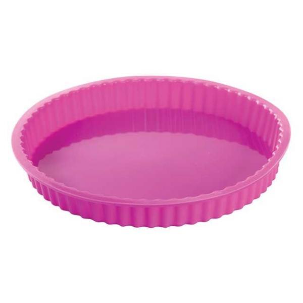 """Силиконовая форма для пирога """"Пицца волна"""" 23 см"""