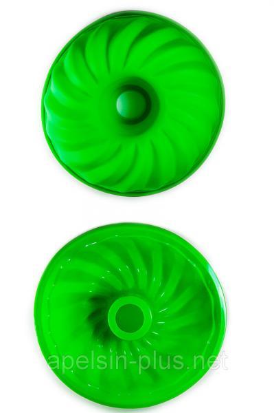 """Силиконовая форма для пирога """"Кекс с втулкой"""" 25 см 10 см"""