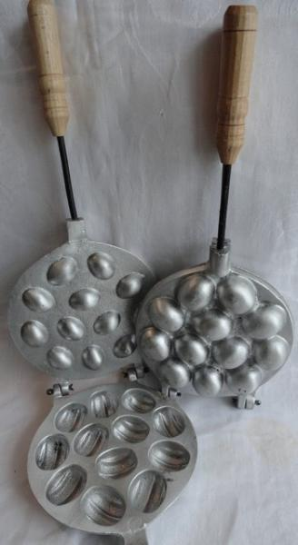 Форма для выпечки пченья Орешки под начинку из 12ти
