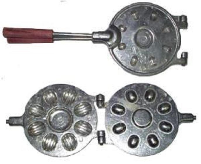 Форма для выпечки Орешков под начинку 8 штук