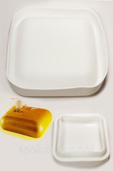 Силиконовая форма для муссовых тортов Gem 1000 мл