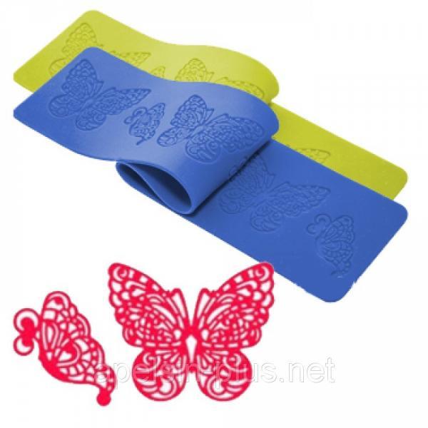 "Коврик для гибкого айсинга ""Бабочки"" 38,5 см 8 см"